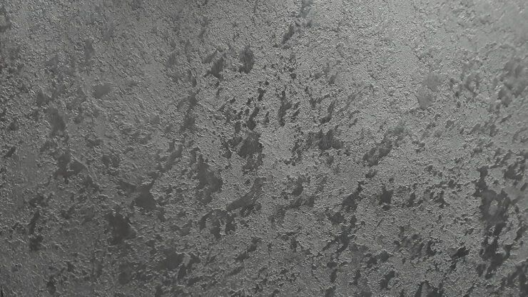 Lava Dark Polished Plaster Finish